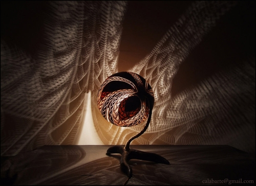 оригинальный дизайн декоративной настольной лампы лампы