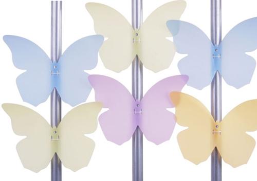 декоративные бабочки для балконного ограждения