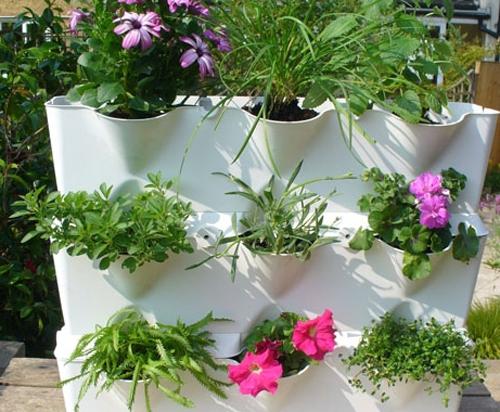 система вертикального озеленения для интерьера балкона