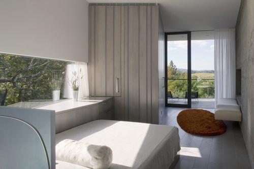дизайн спальни в серой гамме