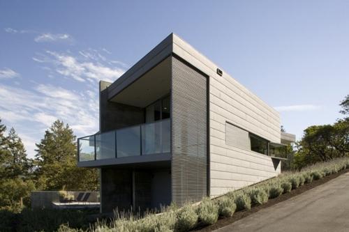 дизайн фасада маленького дома