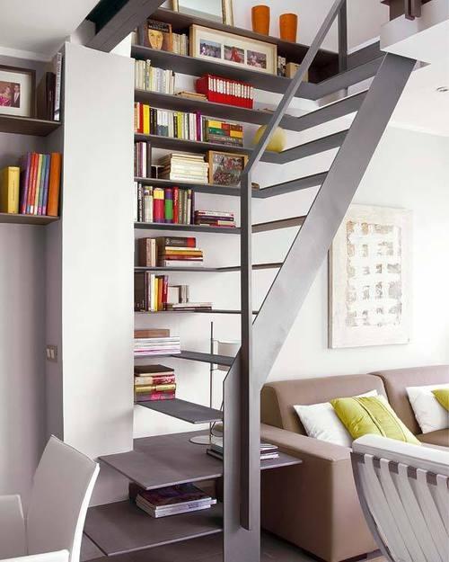 многофункциональная металлическая лестница