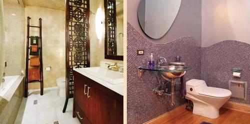 облицовка маленькой ванной комнаты