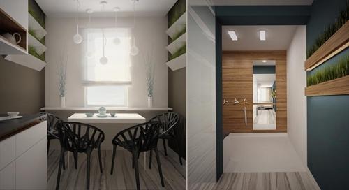 современный интерьер квартиры 2