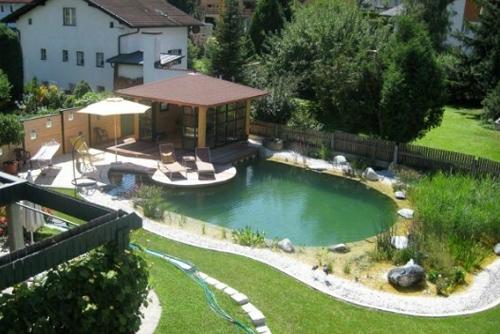 частный натуральный бассейн