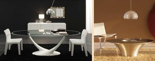 элитные итальянские столы в современном стиле