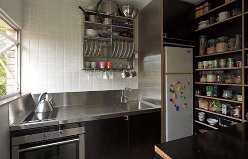 кухня в дизайне маленькой квартиры