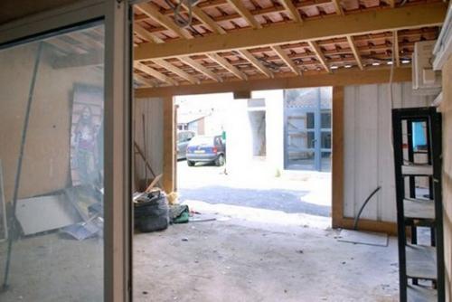 старый интерьер гаража
