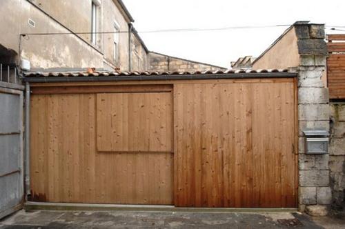 новый фасад жилого гаража