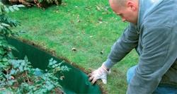 применение геотекстиля для роста корней вглубь
