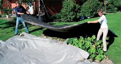 геотекстиль применение для защиты гидроизоляции