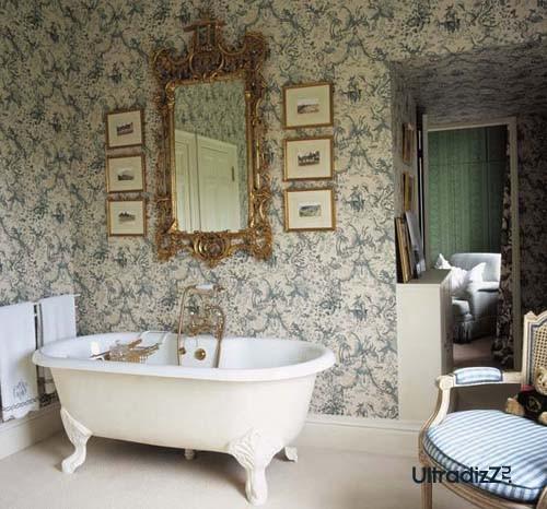 английский стиль интерьера ванной