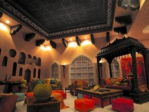 арабский интерьер гостиной