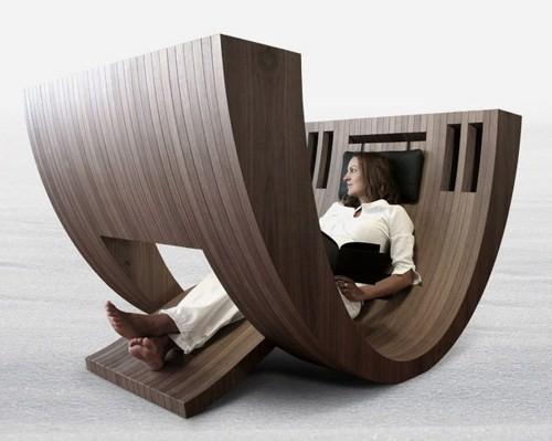 оригинальная мебель для чтения