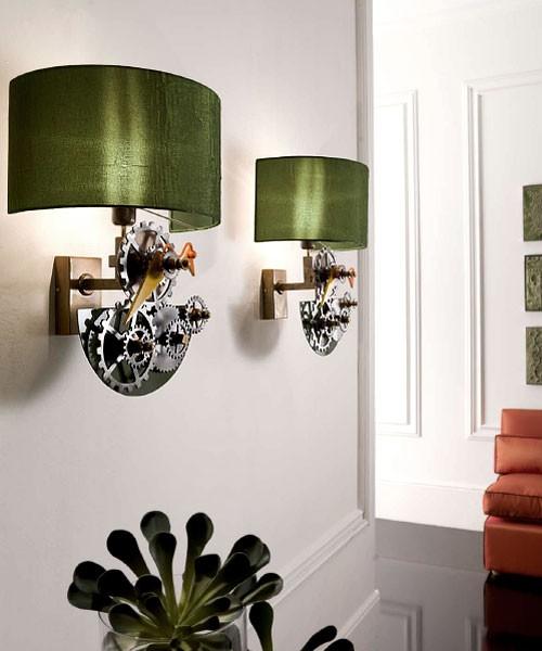 необычные светильники в стиле стимпанк