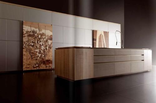 современная мебель для элитной кухни