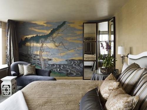 современная манера росписи стен