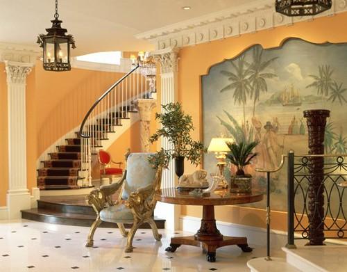 классическая манера росписи стен