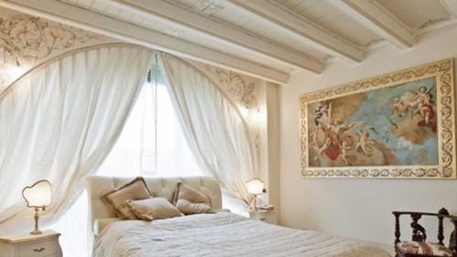 художественная роспись в спальне