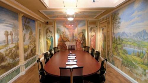 художественная роспись стен и потолка