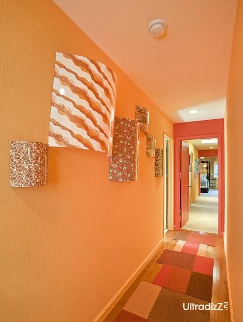 оригинальный дизайн коридора