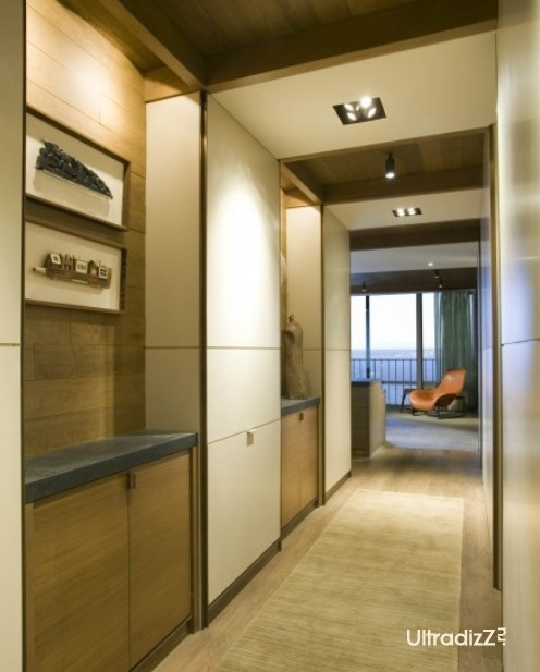 шкафы и ниши в интерьере коридора