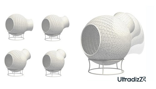 возможные положения мебели для балкона