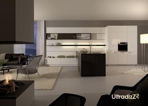 интерьер кухни в современном доме