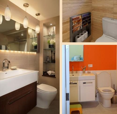 примеры ремонта в туалете