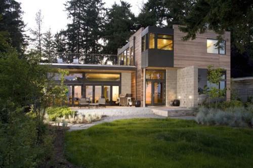 энергосберегающий проект частного дома