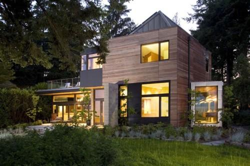 проект частного дома с эффективным энергопотреблением