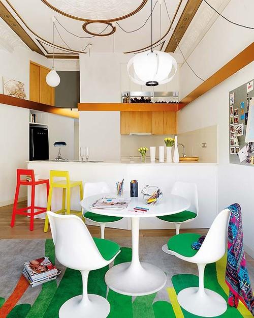дизайн кухонной зоны в квартире
