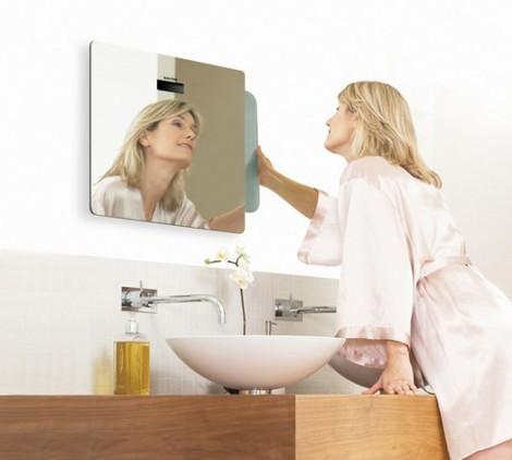зеркало с нишей для весов
