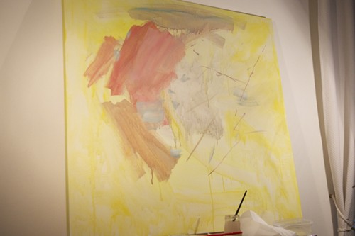 базовая композиция абстрактной картины