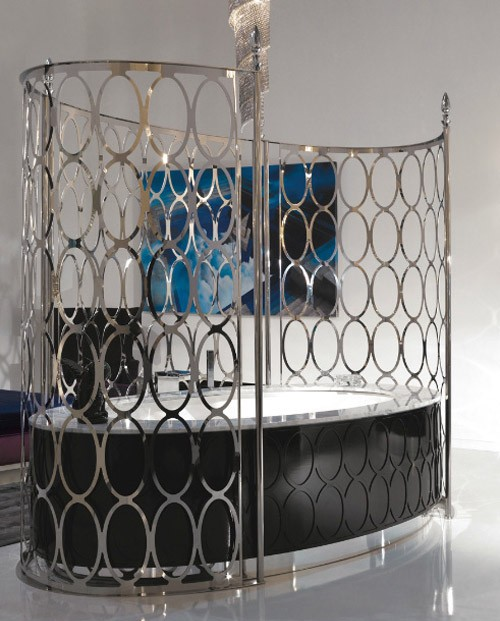 гламурный дизайн ванны