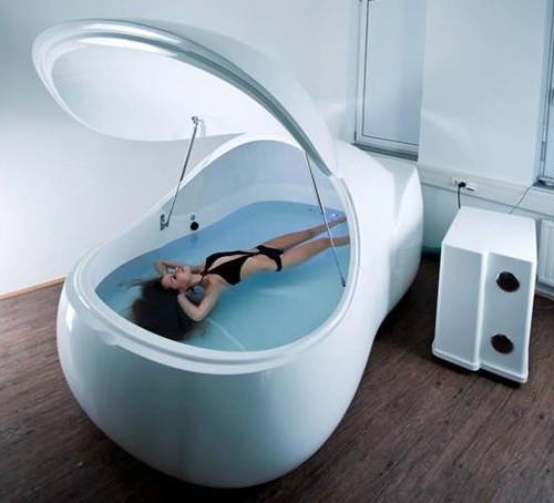 футуристический дизайн ванны