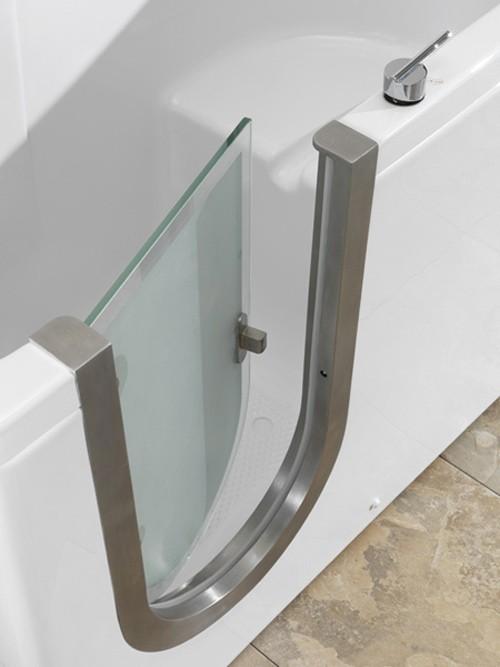 конструкция двери для ванны