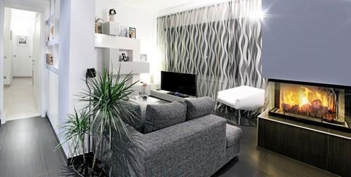 зона отдыха в гостиной