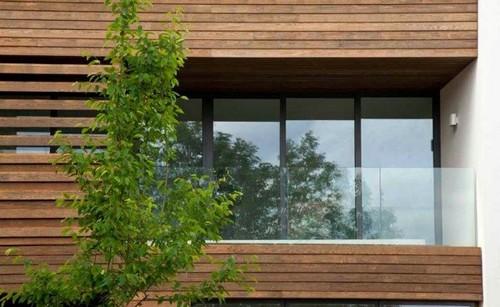 балкон быстровозводимого дома