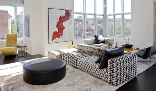 современный набор мягкой мебели