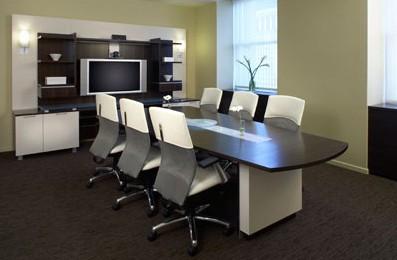 совещательная зона в кабинете руководителя