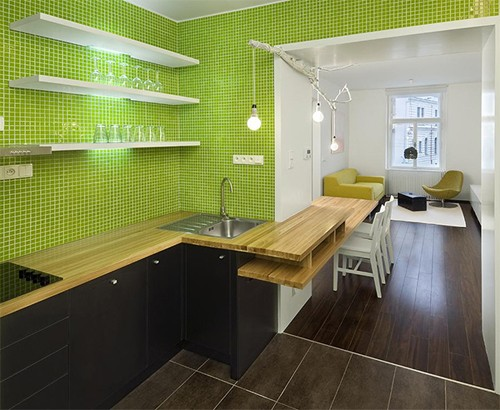 кухня в современной квартире
