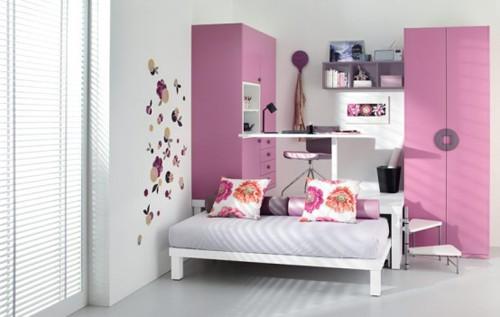 розовая комната для подростка девочки
