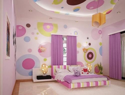оригинальная комната для подростка девочки