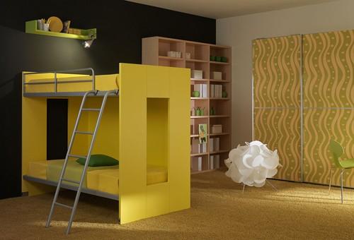 желтый цвет в детской