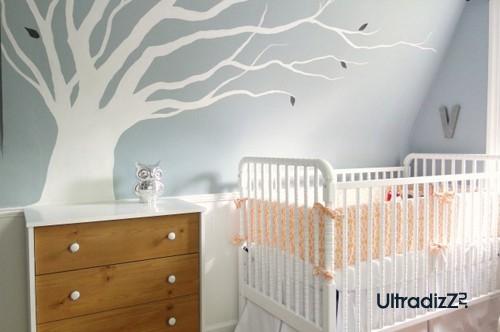 универсальный дизайн комнаты для новорожденного
