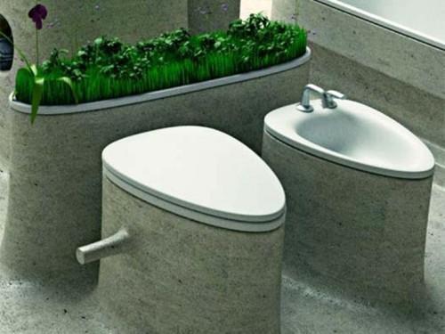 бетонная сантехника для ванной