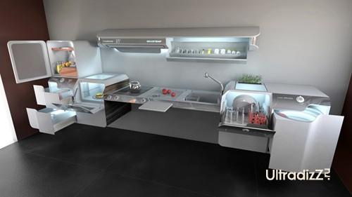 модульный концепт кухни