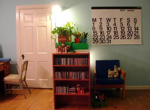 домашние растения в детской комнате