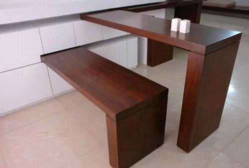 размещение столов в маленькой квартире